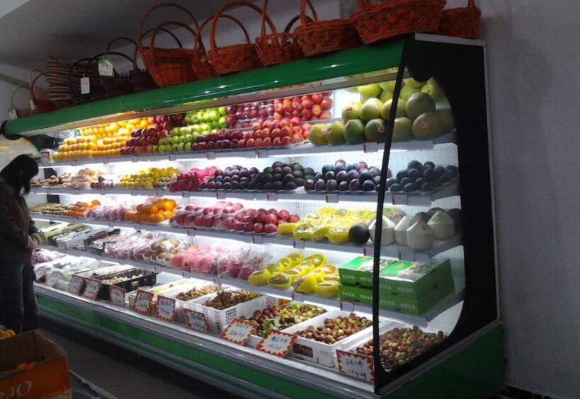 水果风幕柜一体机能改成分体机吗?