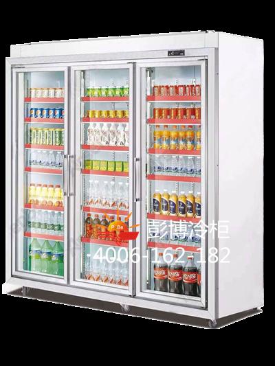 A003款三门展示柜 PB-2100F3Y